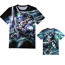 Anime Gundam 00 Exia Unisex T-shirt Short Sleeve Tee Cosplay Tops S-3XL#AL1940