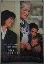 MRS. DOUBTFIRE DS ROLLED ORIG 1SH MOVIE POSTER ROBIN WILLIAMS SALLY FIELD (1993)