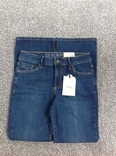 MARKS AND SPENCER INDIGO COLLECTION SLIM FLARE JEANS SIZE 12 BRAND NEW