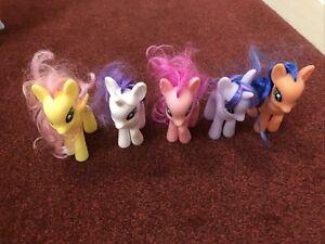 My little pony bundle hasbro All 10cm Tall