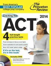 Cracking the ACT with 4 Practice Tests & DVD, 2014 Edition (College Test