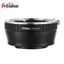 Weidon LR-M4/3 Adapter Ring Leica R LR Lens to Micro 4/3 Body GH4 BMPCC
