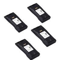4X 1.6AH Battery for Motorola Radio CP150 CP200 PR400 EP450 as NNTN4496/NNTN4497