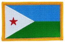 Patch écusson brodé Drapeau  DJIBOUTI FLAG  Thermocollant