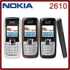 new Nokia 2610 Black Dark blue Unlocked GSM Cellular Phone