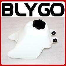 WHITE PETROL FUEL TANK YAMAHA PY50 PW50 PEEWEE50 PIT TRIAL DIRT BIKE Y-ZINGER