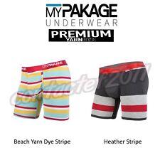 MyPakage Men's ASSORTED PREMIUM YARNDYE Boxer Brief Underwear NEW IN BOX!