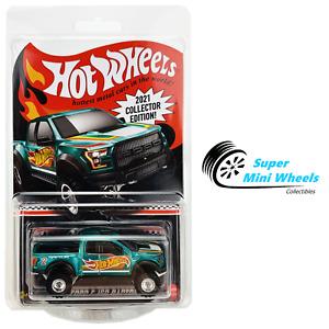 Hot Wheels RLC 2021 Collector Edition - '17 Ford F-150 Raptor (Green)