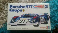 Mitsuwa 1/28 PORSCHE 917 Coupe Le Mans MOTORIZZATA KIT OTTIME CONDIZIONI SUPER RARA