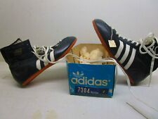 80s Adidas Hercules Leather Boots Rocky IV Freddie Mercury Boxing Shoes US 7