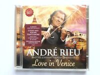 ANDRE RIEU AND HIS JOHANN STRAUSS ORCHESTRA LOVE IN VENICE CD ALBUM NEW