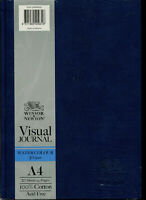 Winsor & Newton Hardcover Watercolour Visual Journal 300 gsm 20 Sheets A4 NEW