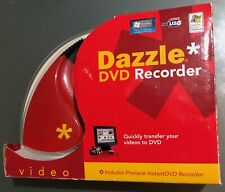 DVD Recorder Transfer Videos to DVDs USB Dazzle by Pinnacle Studio