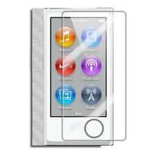 Skinomi Carbon Fiber Silver Cover+Clear Screen Protector for Apple iPod Nano 7