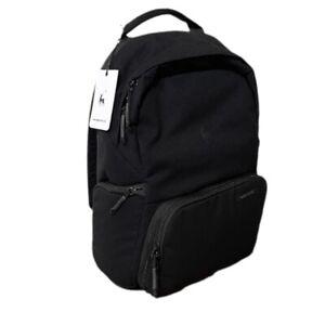 Brevite Jumper Backpack Black Photo Travel Laptop DSLR Camera Compatible NWT