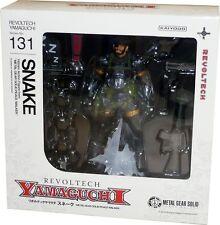 Revoltech Yamaguchi 131 MGS Metal Gear Solid Peace Walker Snake Action Figure