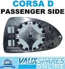 VAUXHALL CORSA D ELECTRIC HEATED WING MIRROR GLASS PASSENGER SIDE SXI SRI CDTI