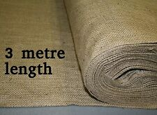 18oz Natural Hessian Fabric 1.8m wide x 3 metre length