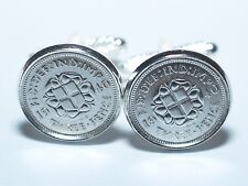 1939 79th Birthday Silver threepence coin cufflinks - Great gift idea