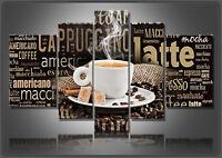 ALTO IMMAGINI DI TELA DIGITAL ART CAFFÉ 3093