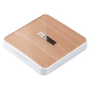MECOOL KM6 Deluxe 4GB/64GB ROM Android TV 10.0 TV BOX Amlogic S905X4 2.5G+5G WIF