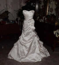 ANGELINA FACCENDA Bridal Gown Wedding Dress Size 8      REF:4743830