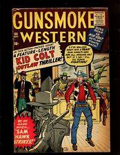GUNSMOKE WESTERN #60 (5.0) LENGTH KID COLT UTLAW THRILLER!