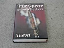 JAMES HERBERT: THE SPEAR: VF/VF SIGNED UK FIRST EDITION HARDCOVER 1/1