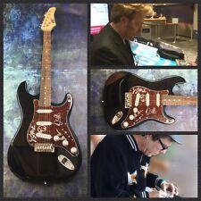 GFA Brian Setzer Band * STRAY CATS * Signed Electric Guitar PROOF AD3 COA
