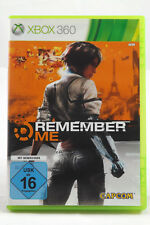 Remember Me (Microsoft Xbox 360) Spiel in OVP, PAL, CIB, TOP, SEHR GUT