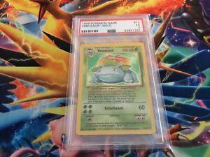 1999 Pokemon TCG Base Venusaur Holo Rare Unlimited Card 15/102  PSA 5 EX