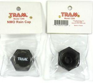 Lot of (2) TRAM 1290 NMO Rain Cap,Protects mounts when antenna is taken off