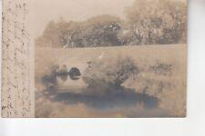 Real Photo Postcard Stone Bridge at East Webster  MA