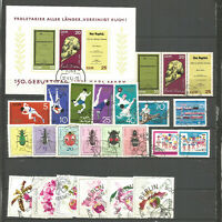 DDR 1968 gestempelt kompletter Jahrgang