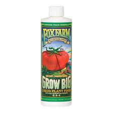 Fox Farm Instant Grow Big 1 Pint Liquid Plant Food Vegetative Growth Foxfarm