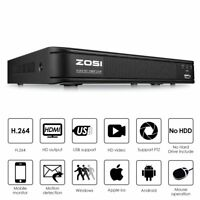ZOSI HDMI 8CH 1080p POE DVR CCTV motion detection Security surveillance System