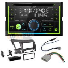 JVC KW-R940BTS  Car Radio Stereo Dash Kit for 2006-2011 Honda Civic Dark Grey
