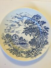 Vintage China Wedgewood Countryside Blue Bread & Butter Small Plate Antique