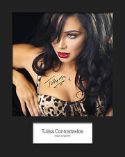 TULISA #5 10x8 SIGNED Mounted Photo Print - FREE DELIVERY