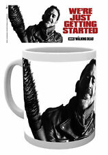 WALKING DEAD NEGAN WE'RE JUST GETTING MUG NEW GIFT BOXED 100% OFFICIAL MERCH