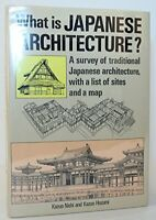What Is Japanese Architecture? (English and Japanese Edition) by Nishi Kazuo …