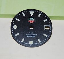 TAG HEUER Dial Professional GMT, Black Mat Color, Date window in 3 Hour