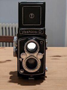 Yashica D. TLR 120 Film Camera. Film Tested