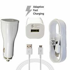 Samsung de carga rápida de FABRICANTE DE EQUIPOS ORIGINALES Cargador de coche Adaptador De Corriente Con Cable Micro USB Negro