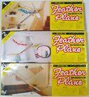(3) Feather Mini Indoor Free Flight Balsa Model Plane Kits - Sealed - 1-2-6