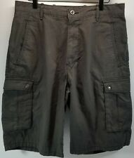 DB) Levi's Men's Snap Cargo Short Relaxed Fit Size 32 Graphite