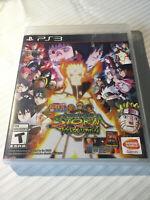 PS3 Naruto Shippuden Ultimate Ninja Storm Revolution Playstation Game Free Ship!