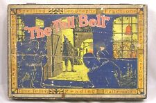 Vintage Wood Box The Tell Bell Knapp Electric Wizard Welcomes Imps To His Party