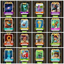 Coin Master MEGA High Rare Pack (x1 of each card shown) *Fast Delivery*