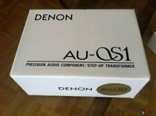 DENON AU-S1 Step Up Transformer MC Moving Coil Phono Cartridge BRAND NEW